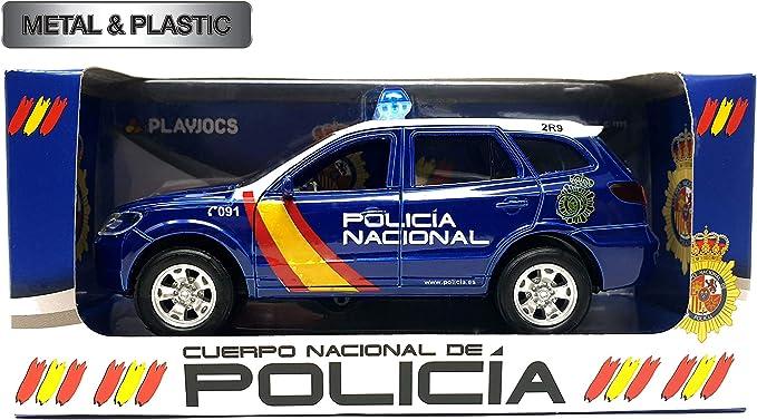 PLAYJOCS Coche Policía Nacional GT-1001: Amazon.es: Juguetes y juegos