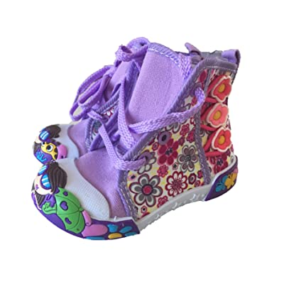 Toddler Girls Size 5//6 Pink//Purple Sandals