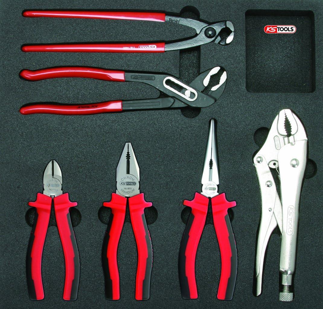 KS Tools 815.2351 Pack alicates, Bandeja de Sistema 2/3, Set de 6 Piezas: Amazon.es: Bricolaje y herramientas