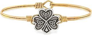 product image for Luca + Danni   Shamrock Bangle Bracelet For Women Made in USA