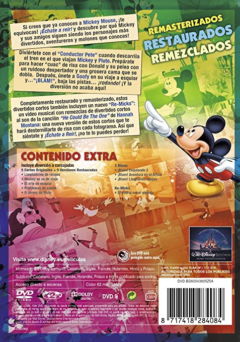 Amazon.com: Disney Echate A Reir Con Mickey - Pat 2 (Import Movie) (European Format - Zone 2) (2011) Varios: Movies & TV