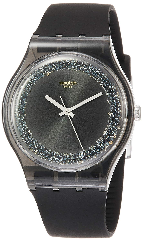 Swatch Reloj Analógico para Hombre de Cuarzo con Correa en Silicona SUOB156