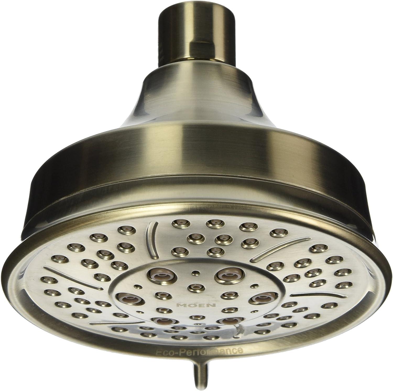 Moen 3638EPBN Four-Function 4-3 8-Inch Diameter Showerhead, Brushed Nickel