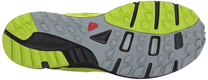 Salomon Sense Marin, Stivali da Escursionismo Uomo, Verde (Lime Green/Black/Quarry 564), 47 1/3 EU