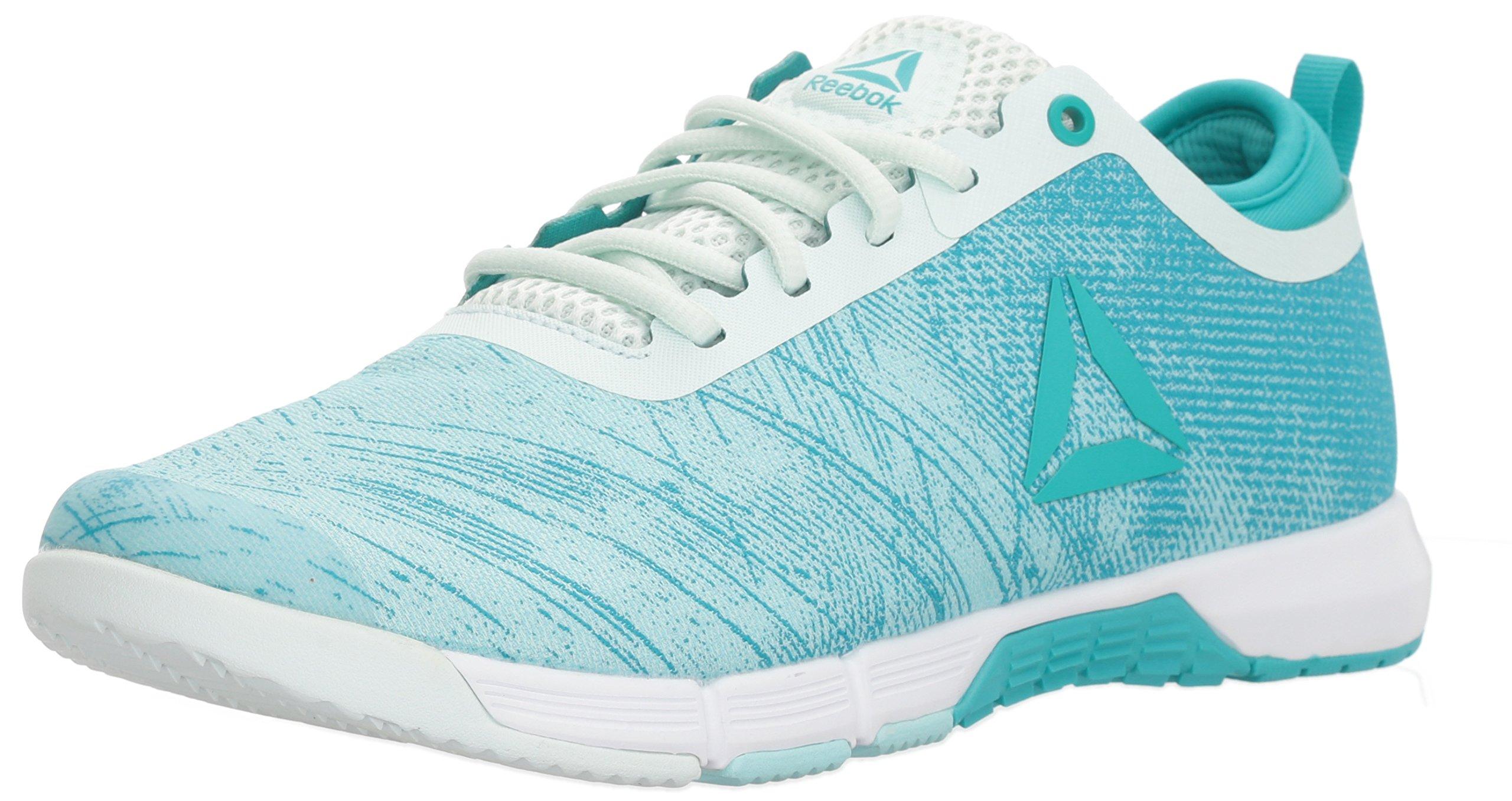 Reebok Women's Speed Her TR Sneaker, Blue Lagoon/Solid Teal/Opal/White/Silver, 8.5 M US by Reebok