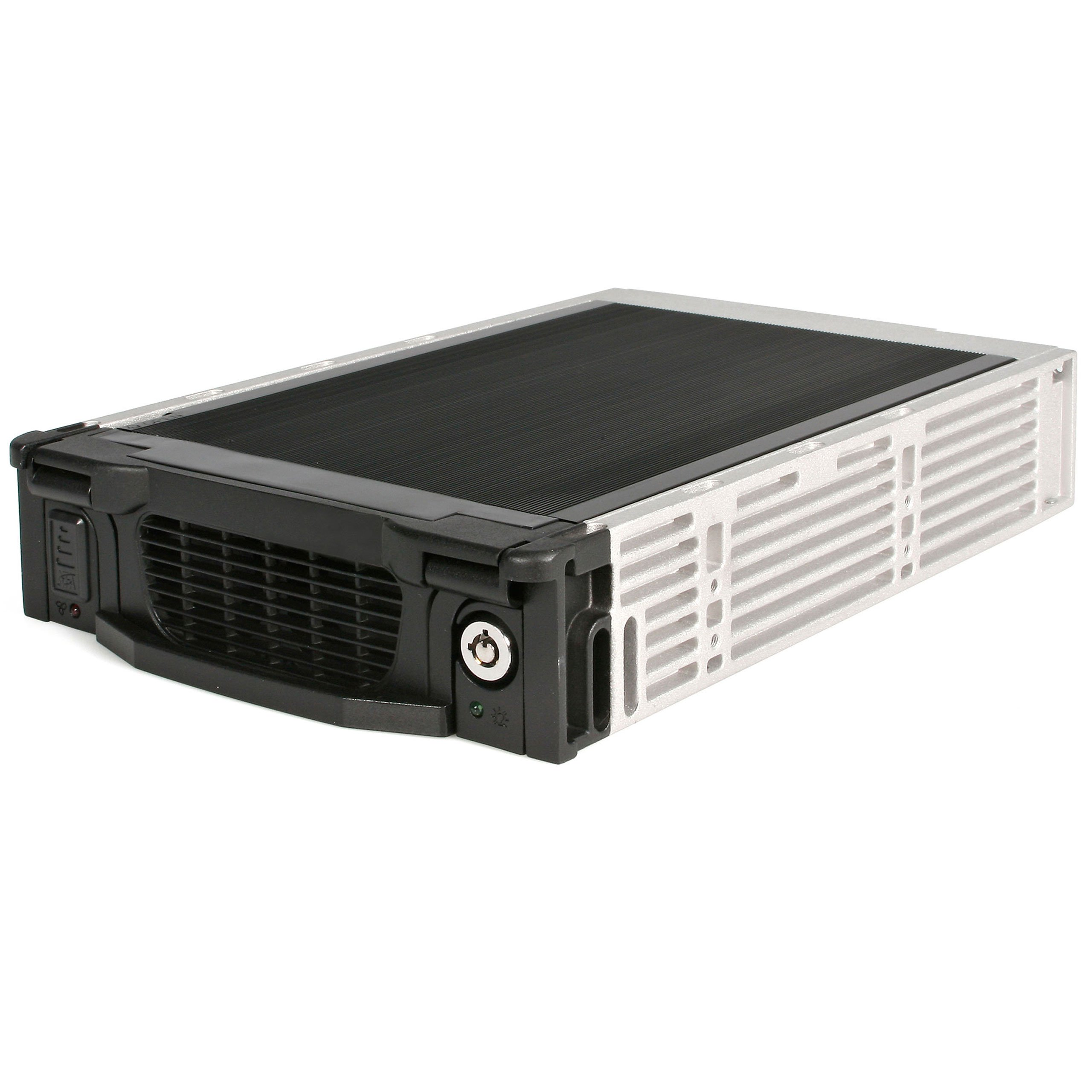 StarTech.com Black Aluminum 5.25in Professional SATA Hard Drive Mobile Rack Drawer by StarTech