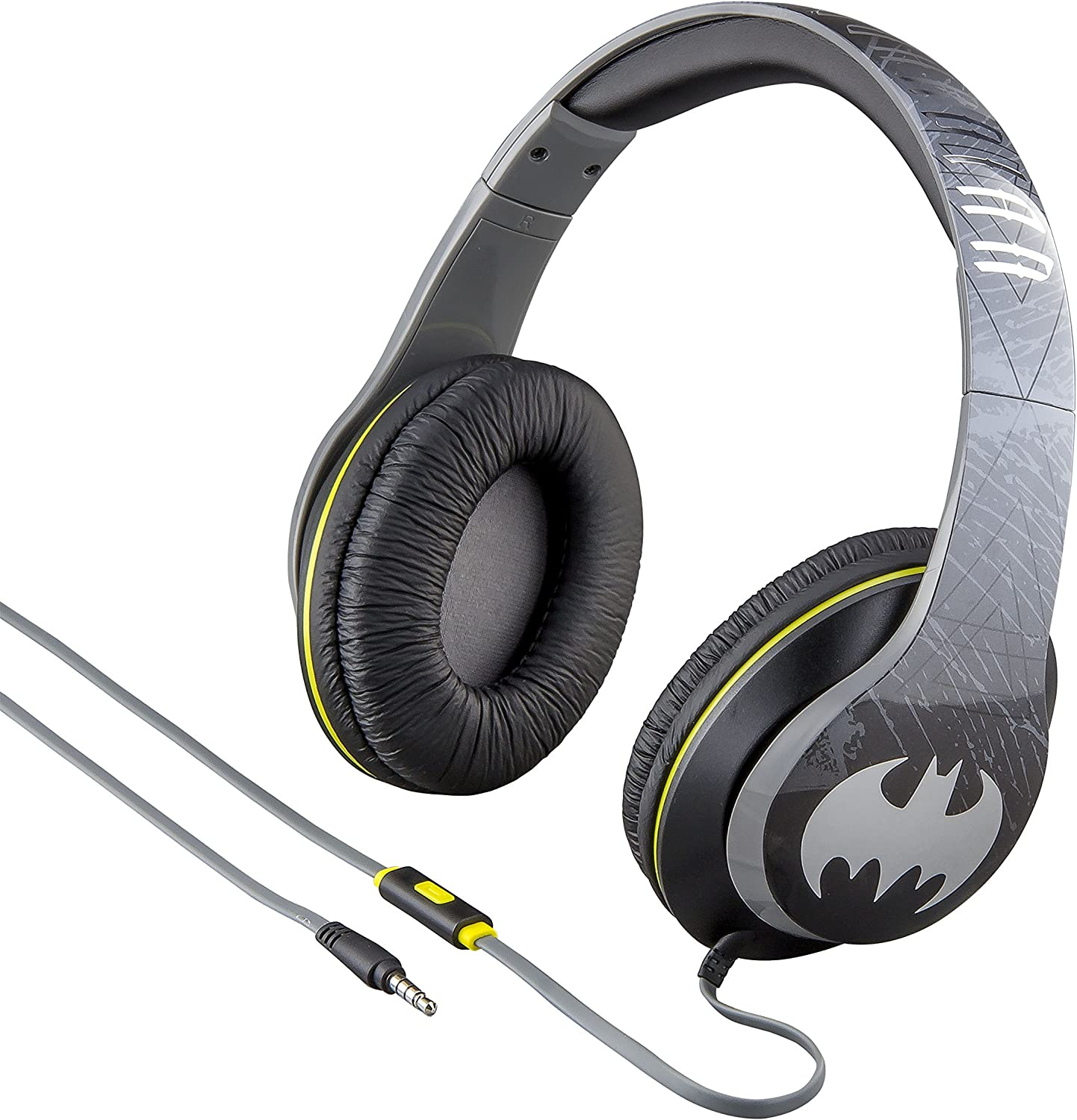 eKids by iHome Batman On Ear Headphones with Built in Mic (Ri-M40BM.FXv7)