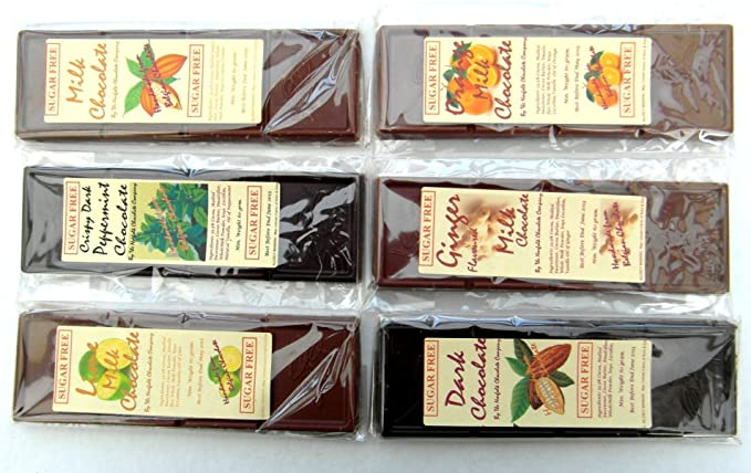 Sugar free chocolate selection 6 x 60g amazon grocery sugar free chocolate selection 6 x 60g negle Images