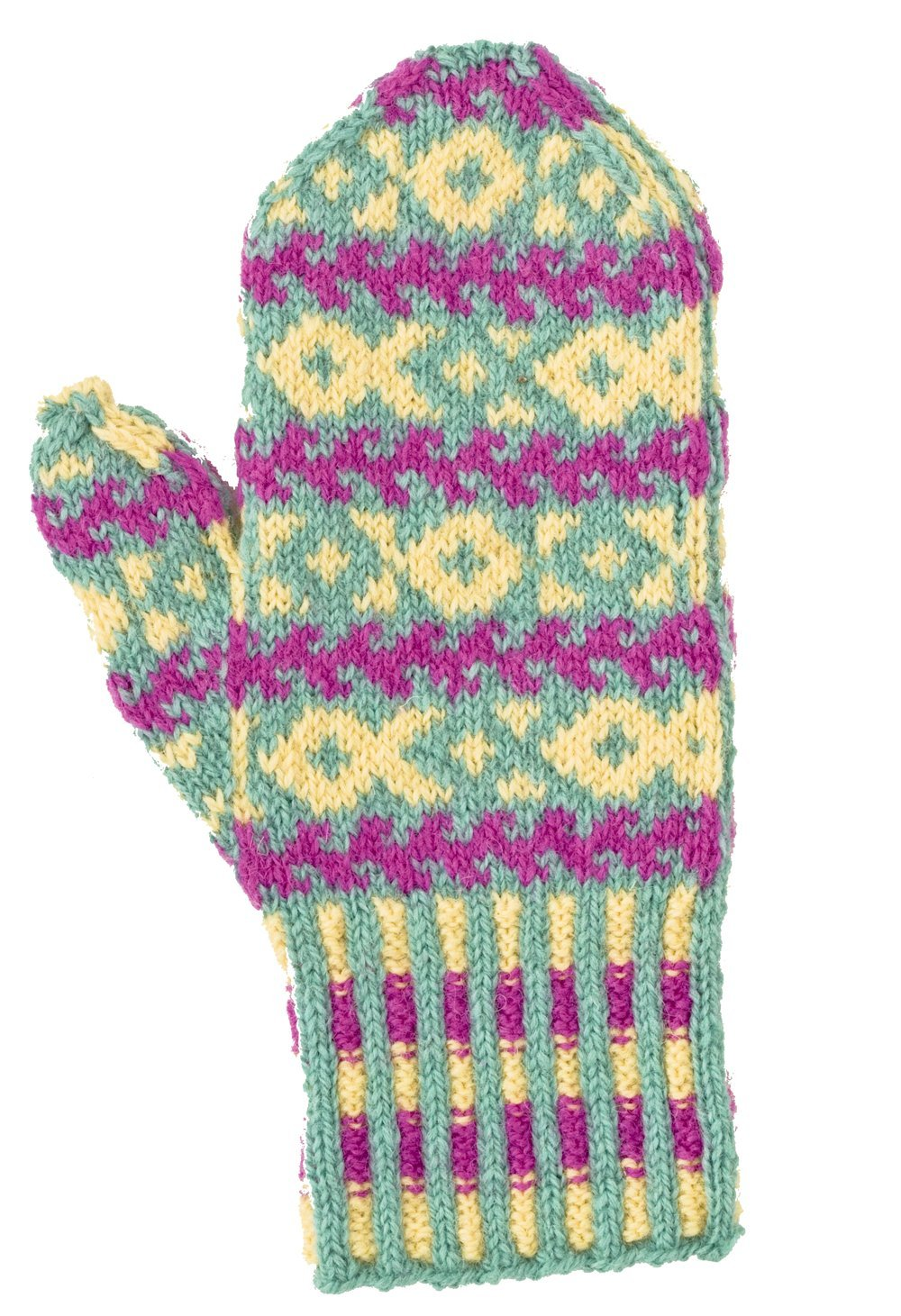 Mostly Mittens: Ethnic Knitting Designs from Russia: Charlene ...