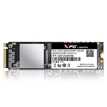 XPG SX6000 128GB M.2 PCI Express 3.0 - Disco Duro sólido (128 GB