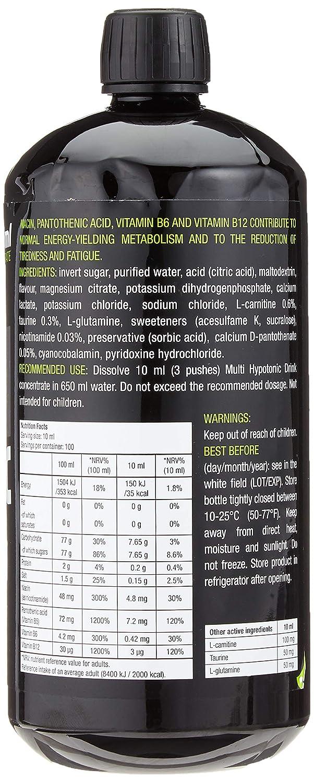 Biotech USA Multi Hypotonic Drink Concentrate 1:65 Endurance Sabor Pomelo - 1000 gr: Amazon.es: Salud y cuidado personal