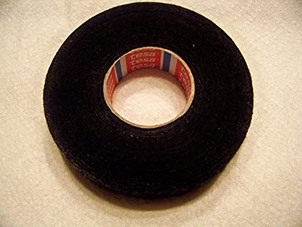 amazon com tesa black fuzzy fleece interior wire loom harness tape rh amazon com Duct Wire Loom Auto Wire Loom