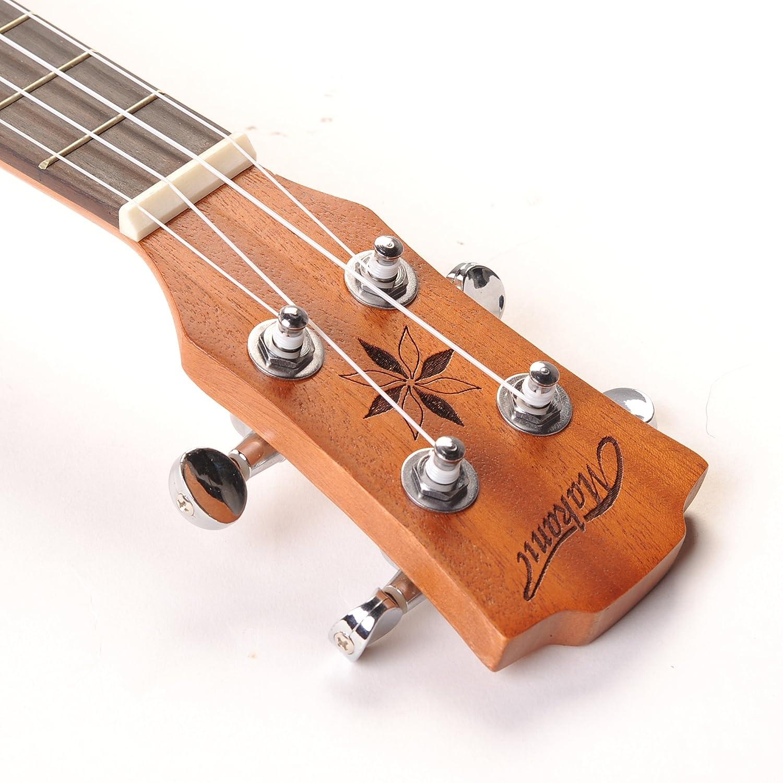 makanu ukulele tuning pegs 2r2l chrome slivery tuner