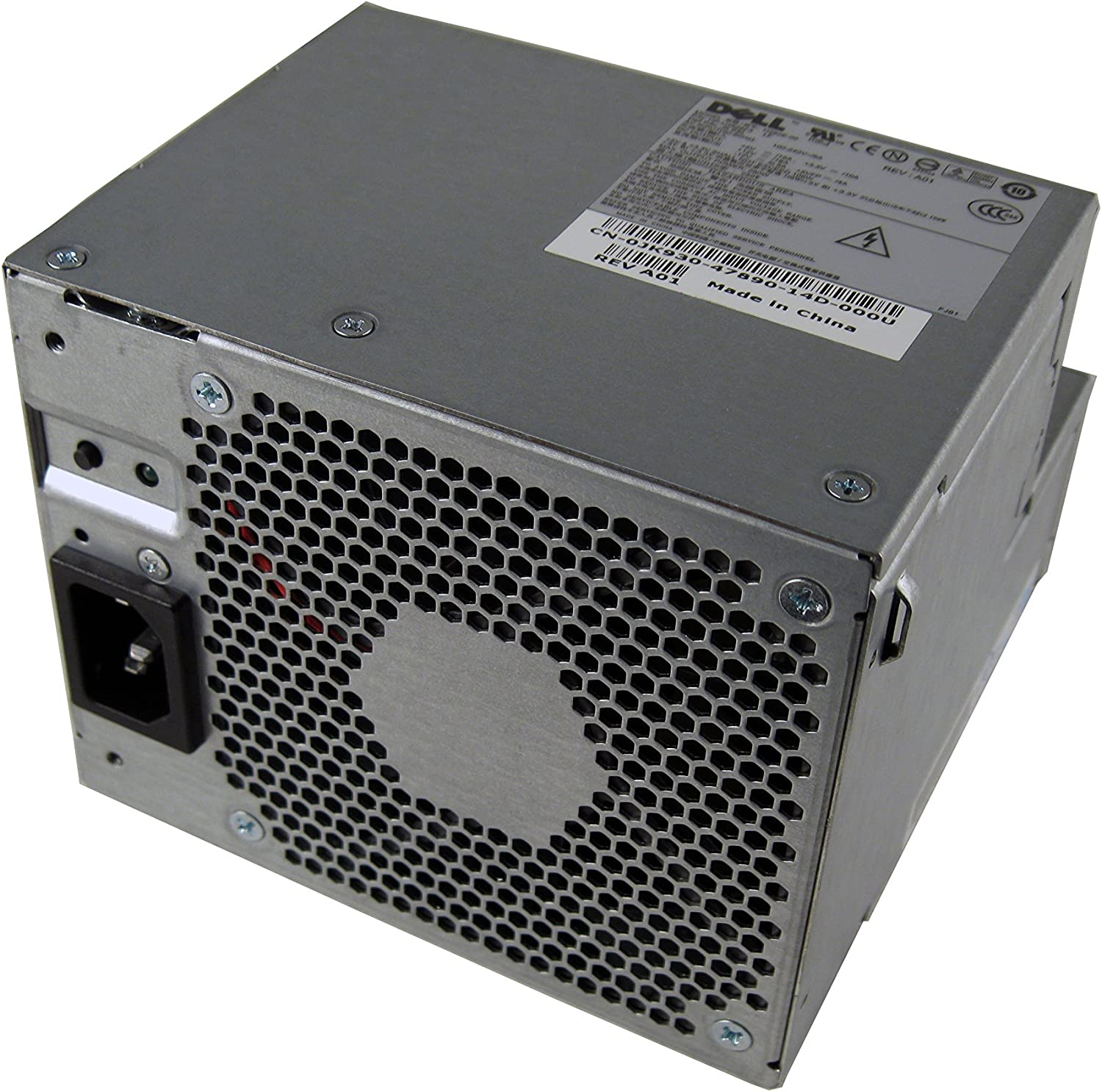 Genuine Dell 255w Power Supply (PSU), Replacement PSU For The Following Desktop (DT) Systems: Dimension 3100C, C521, Optiplex 320, 330, 360, 740, 745, 755, GX520, GX620, 210L, Replaces The Following Dell Part Numbers: KC672, K8965, M8801, M8803, MC638, NC912, N8374, MH595, MH596, NH429, P9550, RT490, U9087, X9072, F5114 MM720, WW109, JK930, Compatible Model Numbers: H220P-00, L220P-00, N220P-00, L280P-00, D280P-00, H280P-00, AA24100L