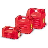 EDA Plastiques Jerrican pour Essence Plastique Rouge