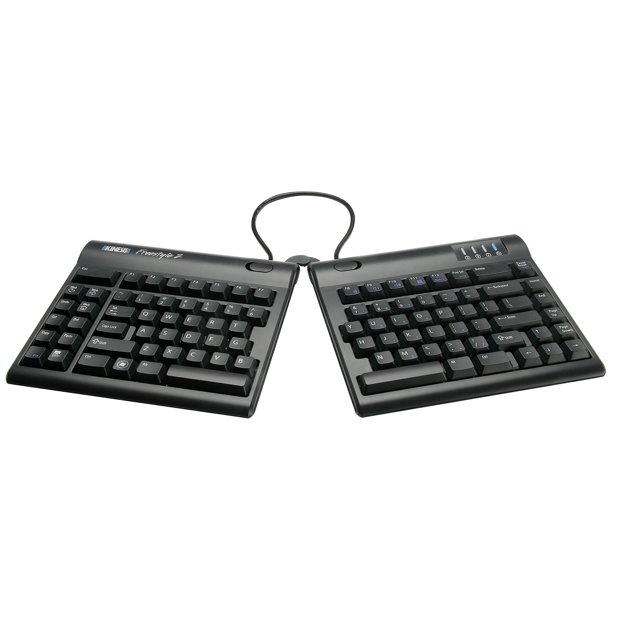 Kinesis Freestyle2 Ergonomic Keyboard for PC (9'' Standard Separation)