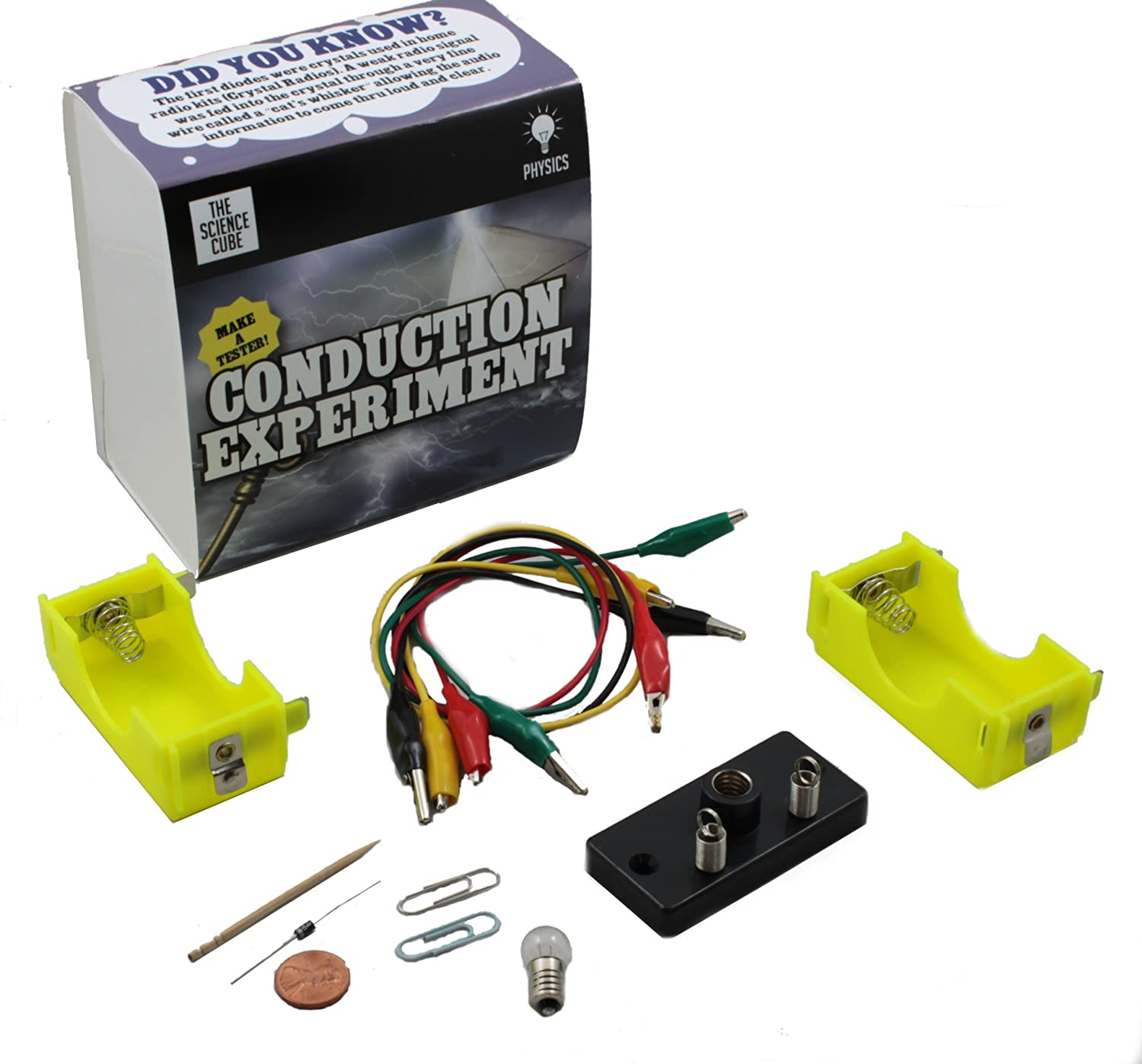The Science Cube Electrical Conduction Experiment Kit Squishy Circuits Industrial Scientific