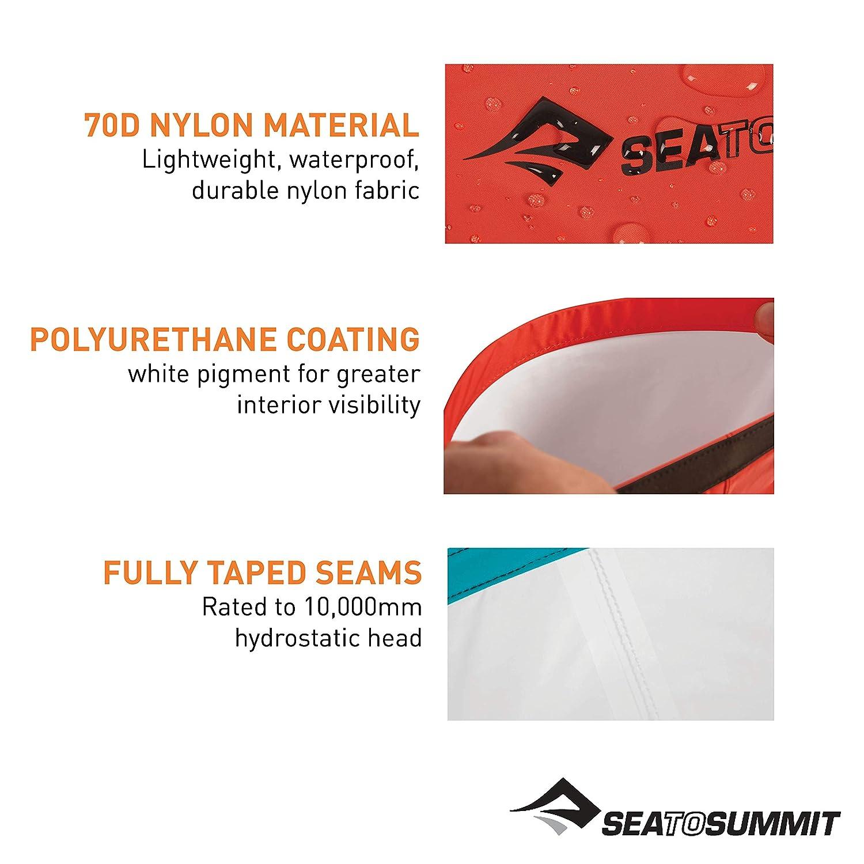 Talla /Única Sea to Summit Lightweight 70D Dry Sack-1 litros Saco Monta/ñismo Red Alpinismo y Trekking Adultos Unisex Rojo
