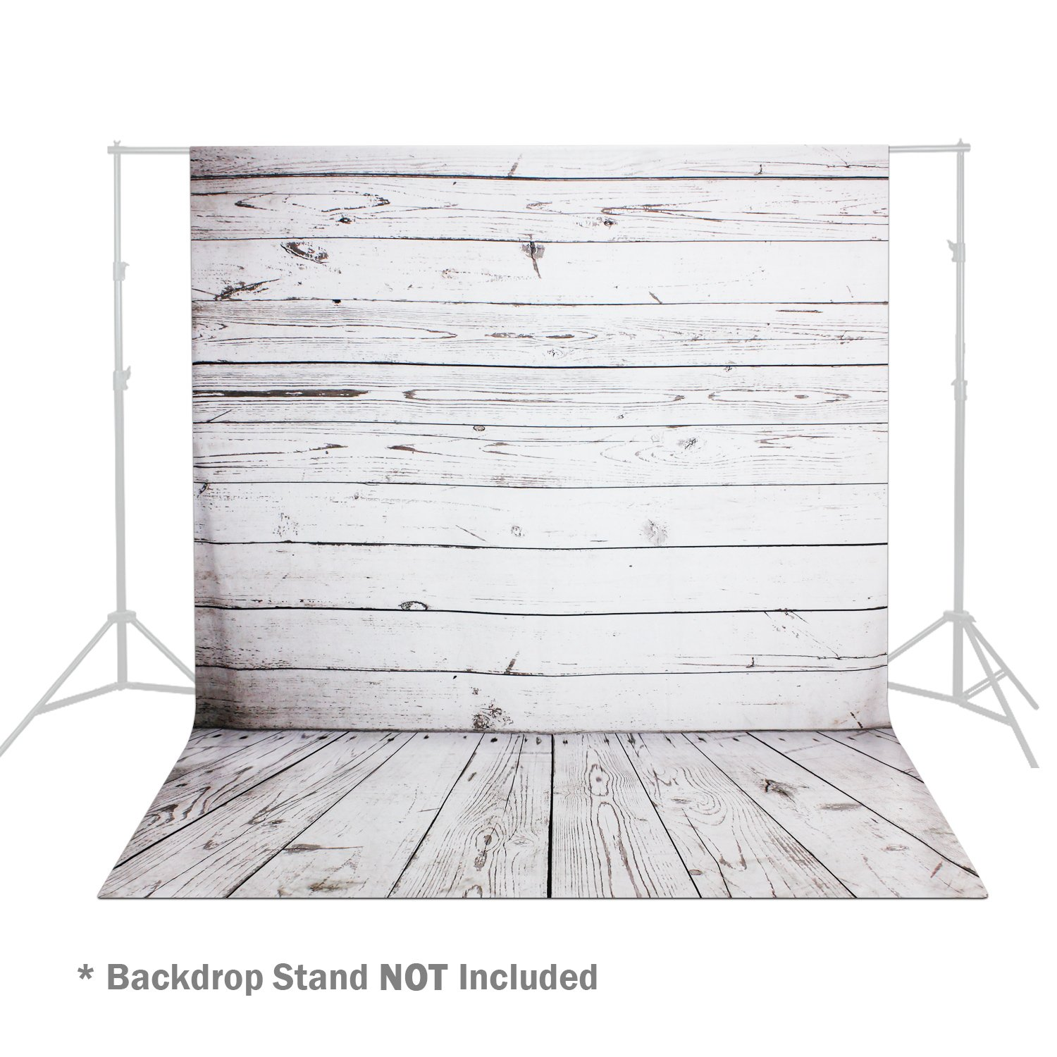 Julius Studio 5 x 10 ft. Wood Floor Printed Backdrop Background for Photography Studio Video Shooting, Backdrop Only!, JSAG356 by Julius Studio