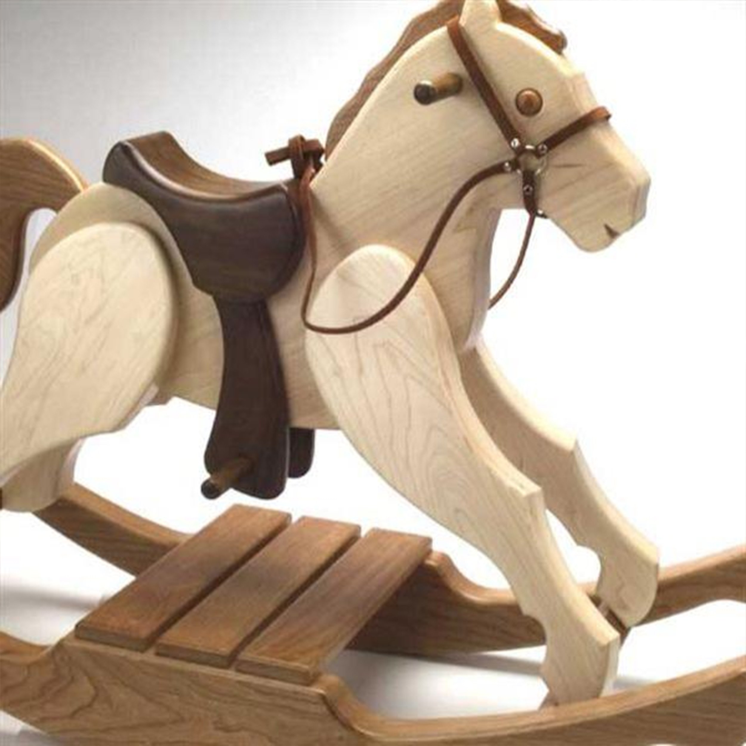 Woodworking Project Paper Plan to Build Rocking Pony by Woodcraft Magazine