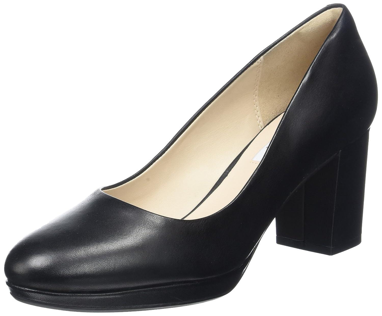 Clarks Damen Kelda Hope Pumps42 EU|Schwarz (Black Leather)