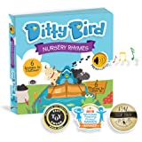 DITTY BIRD Our Best Interactive Nursery Rhymes Book for Babies. Illustrated Music Singing Board Book. Educational Musical Toys for Baby, 1 Year Old, Toddler with Electronic Push Button. Boy Girl