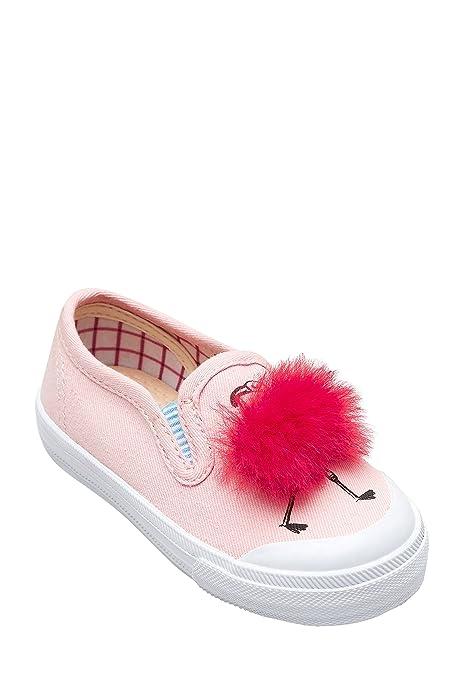 next Niñas Zapatillas De Skate Color Flamingo con Pompón (Niña Pequeña) Rosa EU 30.5: Amazon.es: Zapatos y complementos