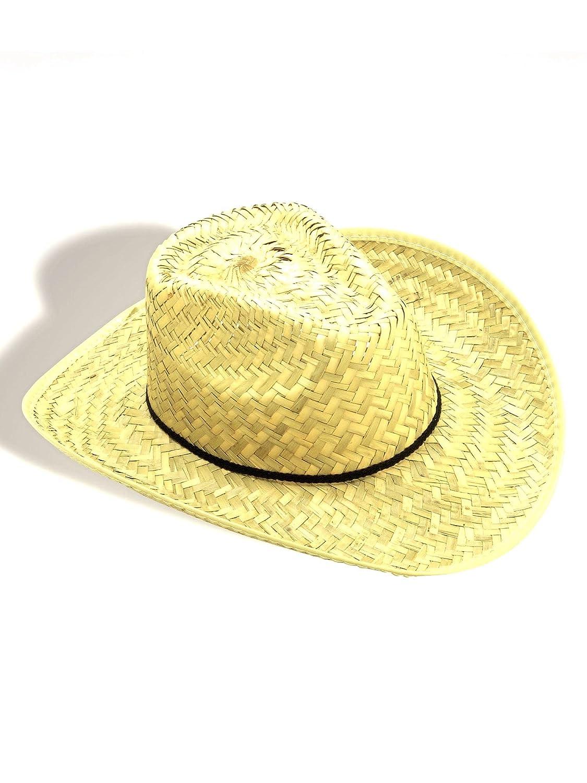 062934adb Forum Novelties Straw Cowboy Hat Adult (One-Size)