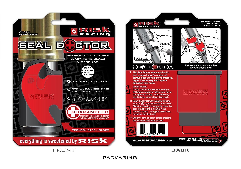 Risk Racing 00121 45-55mm Largo Sello Doctor