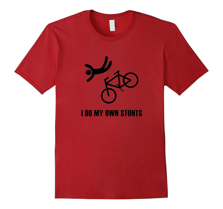 Bike Lovers - I do my own stunts (Black) T-Shirt-BN
