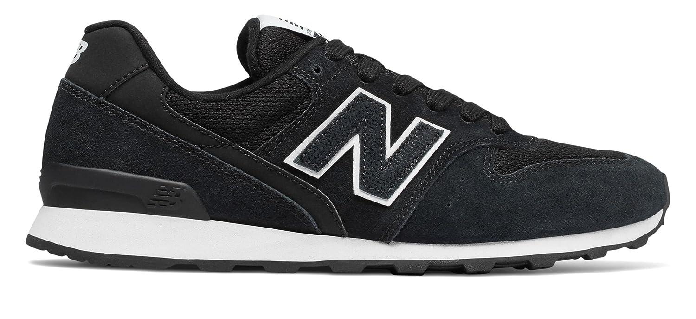 (ニューバランス) New Balance 靴シューズ レディースライフスタイル 696 Black with White ブラック ホワイト US 8.5 (25.5cm)   B078JZFMJS