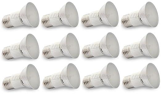 12er SET marcas bombilla LED Line ledes{27} E27 SMD5630 5 W lámpara de