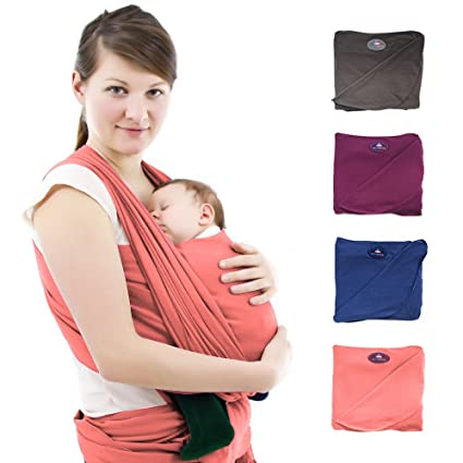 Nest suerte - PREMIUM Baby - Pañuelo Portabebés para recién nacidos ...
