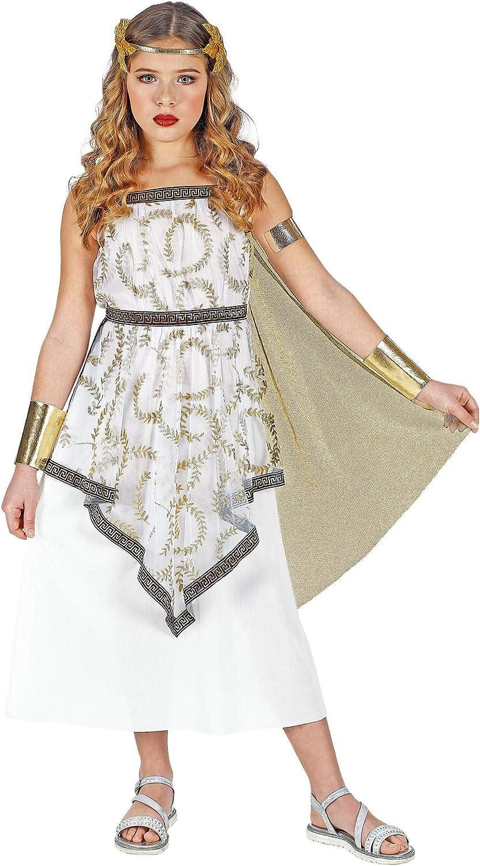 WIDMANN 01876 - Disfraz infantil de diosa griega para niña (128 cm ...