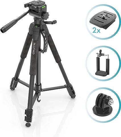 Trípode para cámara réflex Canon, con 165 cm de altura, incluye ...
