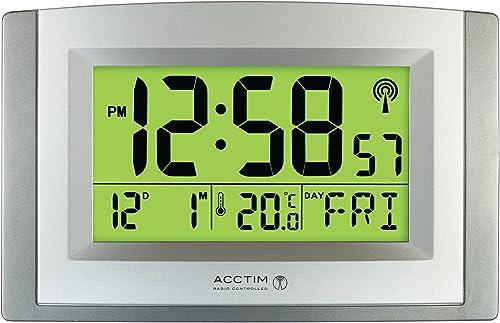 Acctim Stratus Smartlite Wall Desk Clock