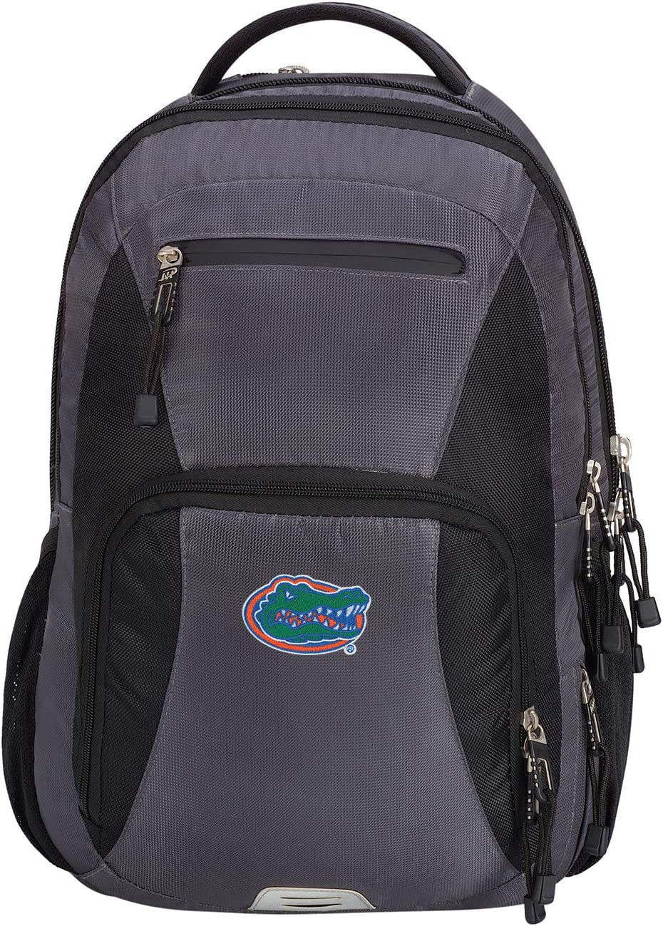 Officially Licensed NCAA Turbine Backpack 19 Grey