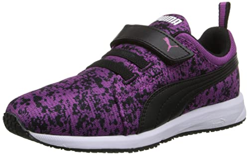 5f9ba4b8e30b PUMA Carson Runner V Kids Splat Sneaker (Infant Toddler Little Kid ...