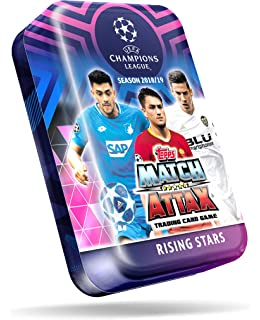 10 Packs + 10 Promo Packs CHAMPIONS LEAGUE 2018-19 Topps Match Attax Cards 20-Pack Set Pogba /& More Neymar Ships from USA Ronaldo Look for Superstars Mbappe Messi Total of 110 Cards