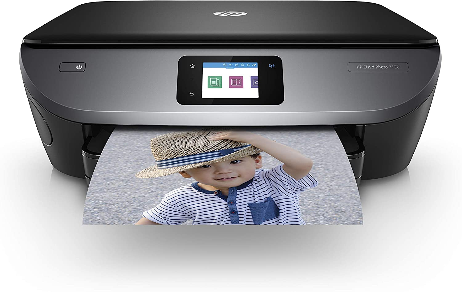 HP Envy Photo 7120 All in One Photo Printer with Wireless Printing, Instant Ink Ready (Z3M37A) (Renewed)