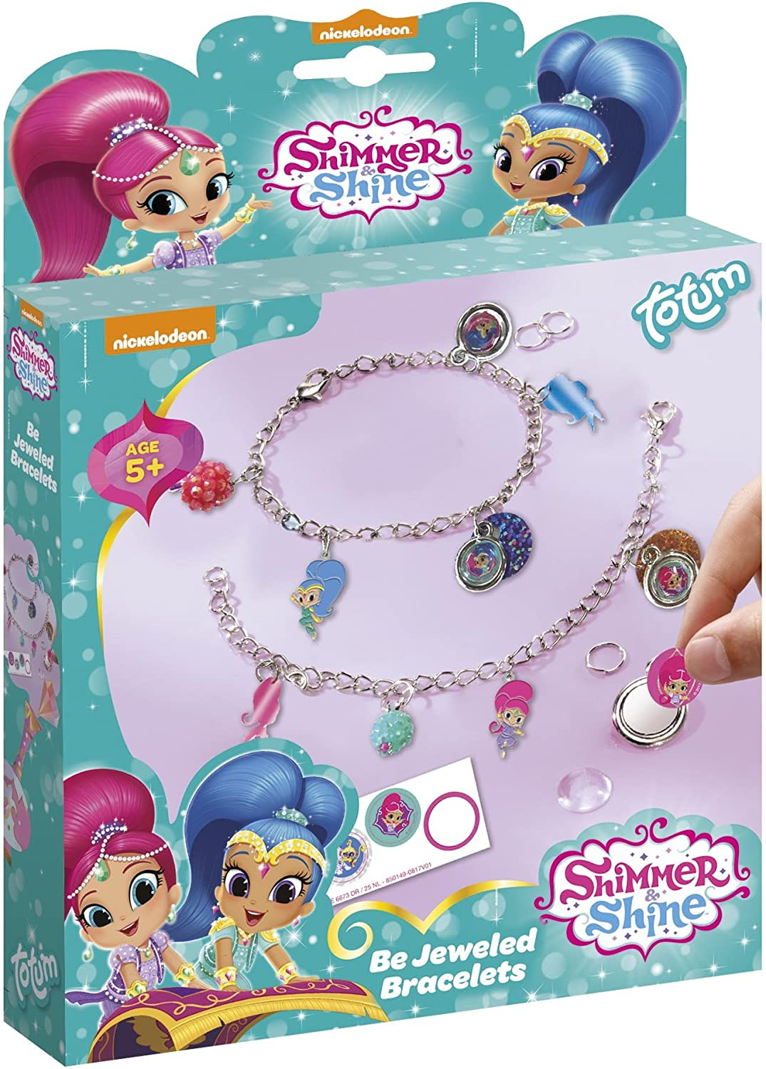 TM Essentials- Shimmer & Shine Charm pulsera, Multicolor (Totum 850149): Amazon.es: Juguetes y juegos