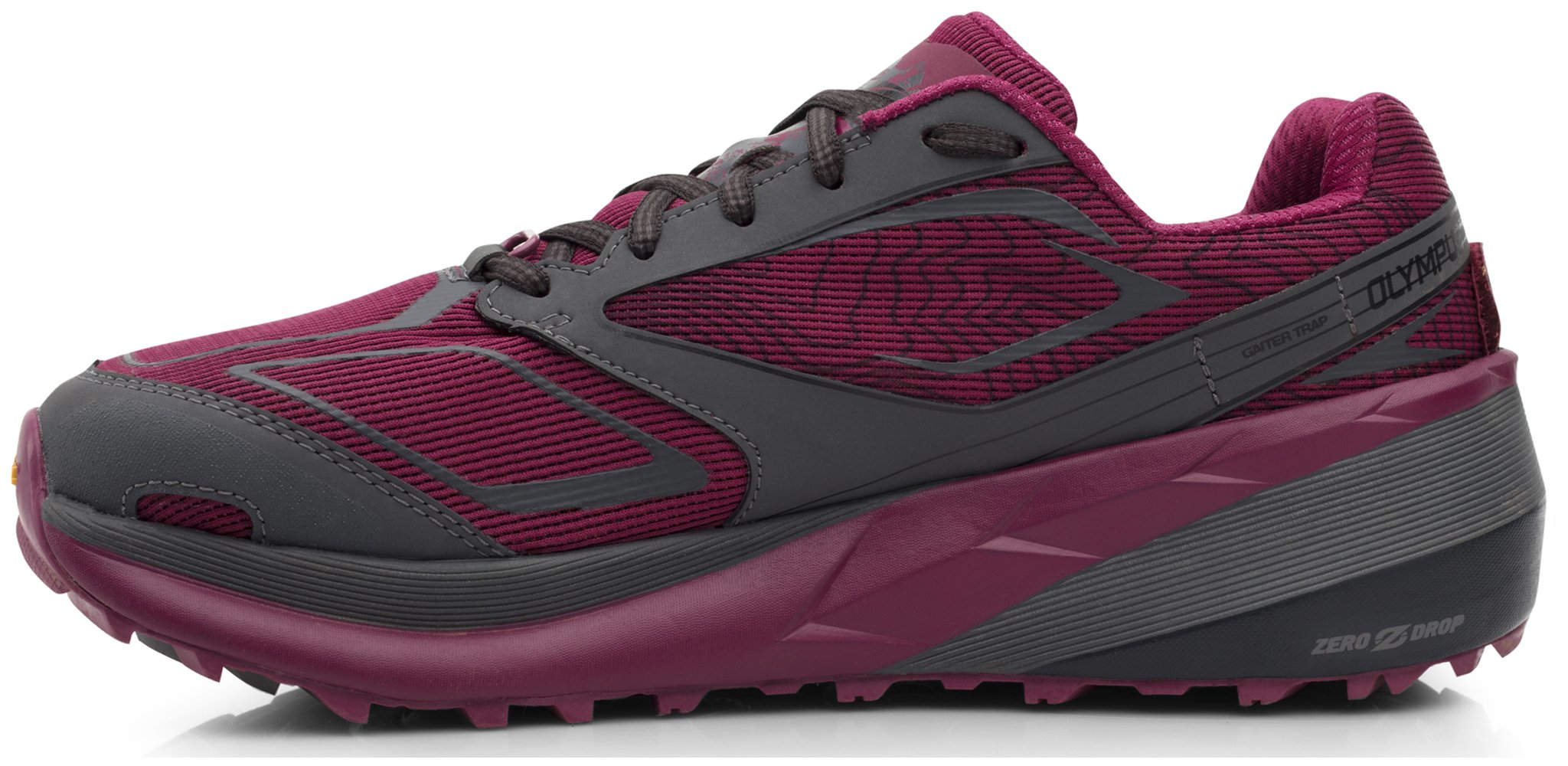 Altra AFW1859F Women's Olympus 3 Trail Running Shoe, Raspberry - 11 B(M) US by Altra (Image #2)