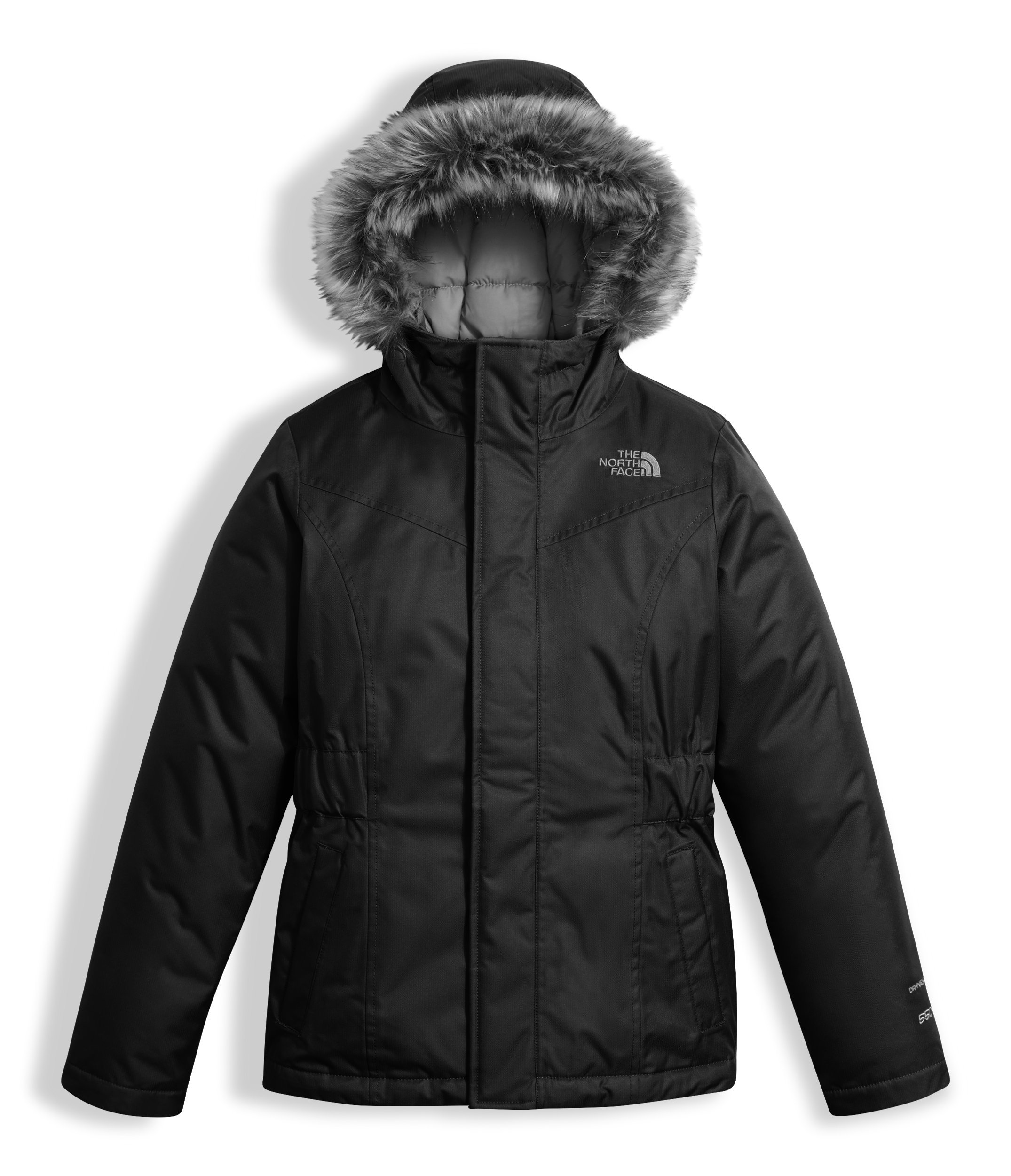The North Face Girl's Greenland Down Parka - Black - M (Past Season) by The North Face