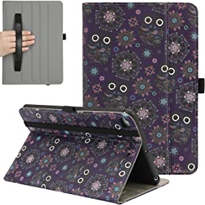 HDE Case for New iPad Mini 5th Generation Case 2019 7.9-inch with Screen Protector Leather Slim Folio Stand Smart Cover Case for iPad Mini 5 2019 with Hand Strap