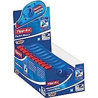 Tipp-Ex Pocket Mouse Korrekturroller mit Bandschutzkappe – Korrekturband 10m x 4,2mm – 10er Pack