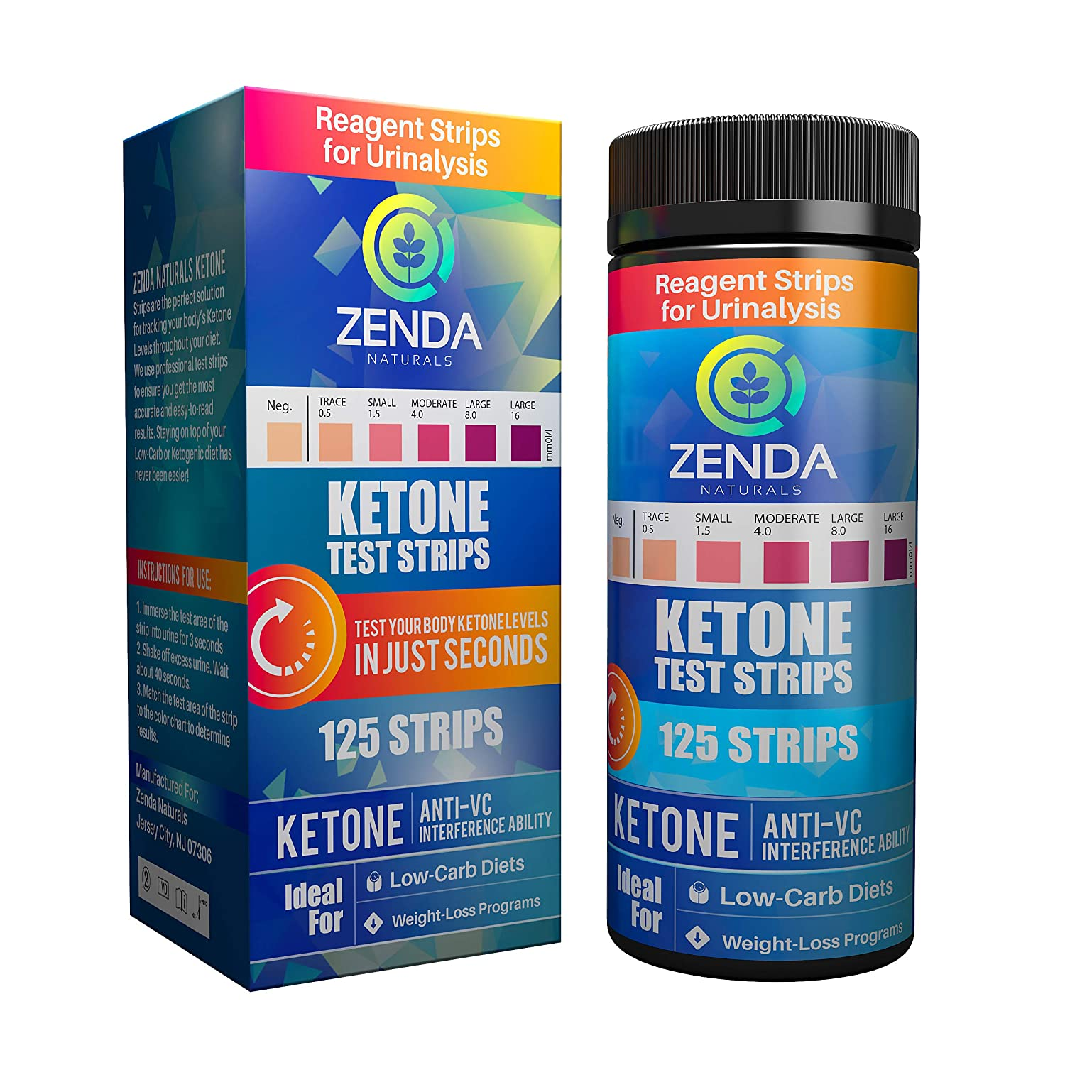 Ketone Strips  Perfect Ketogenic Supplement to Measure Ketones in Urine  Monitor Ketosis for Keto