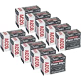 ACCO Premium Jumbo Paper Clips, Smooth, No.4 Jumbo Size, Box Of 100 Clips (5050572500)