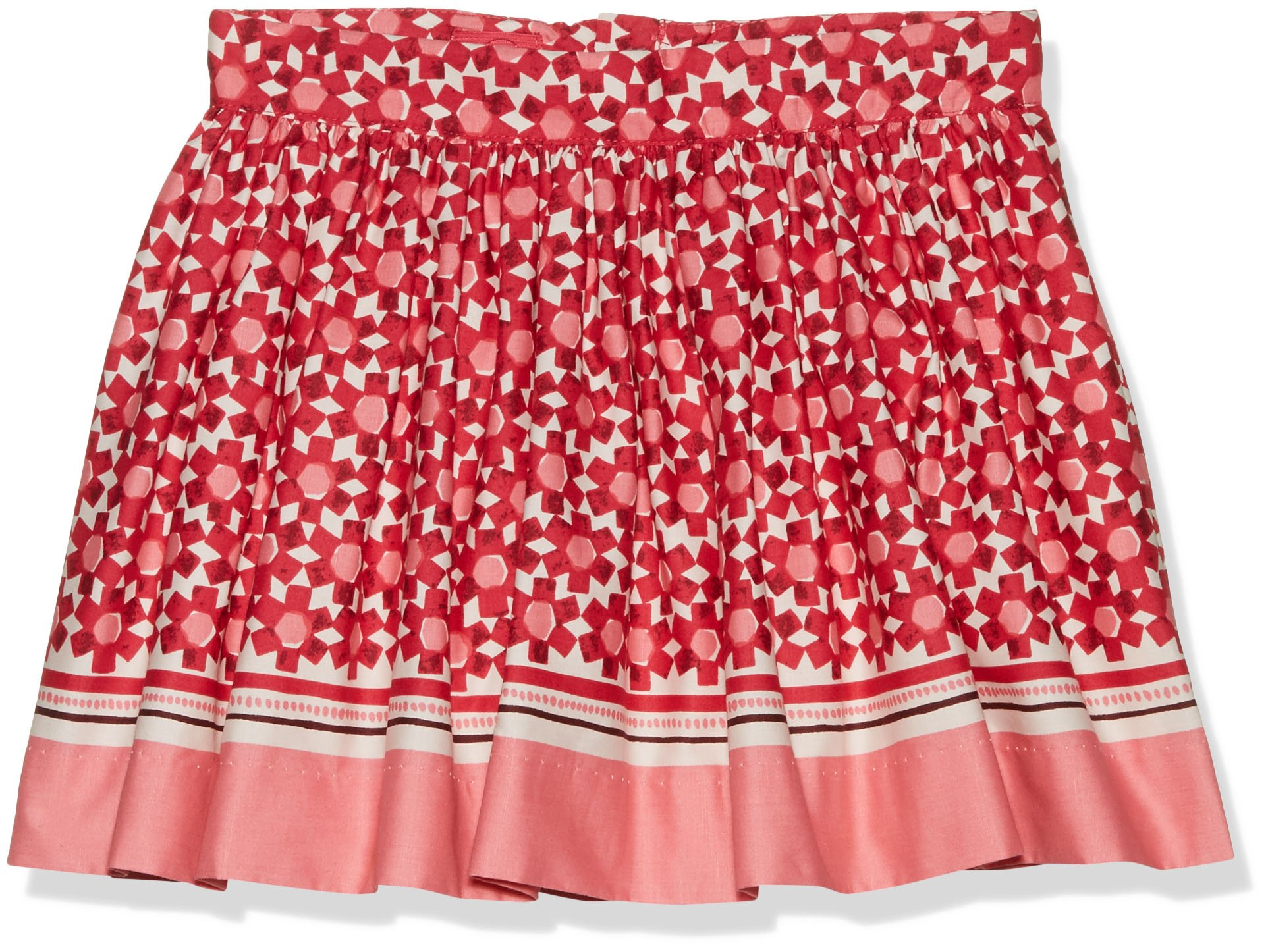Kate Spade New York Girls' Skirt, Floral Tile, 4T