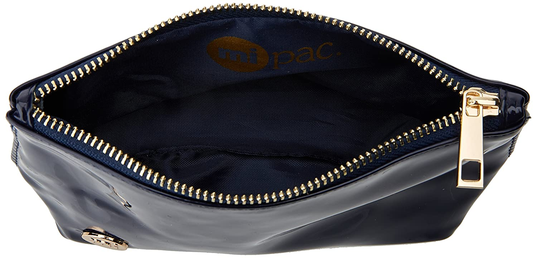 Mi-Pac Make Up Bag Trousse /à Maquillage Beige Glitter Champ 19 cm