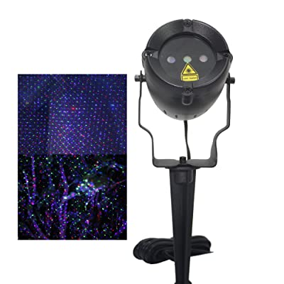LSIKA-Z RGB Waterproof Outdoor Landscape Garden Laser Light Projector